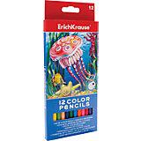Цветные карандаши шестигранные ArtBerry, 12 цветов