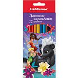 Карандаши Феи и невиданный зверь, 12 цветов