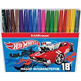 "Фломастеры ""Hot Wheels Super Car"", 18 цветов"