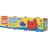 Пластилин на растительной основе Modelling Dough №1, 4 цвета по 35г