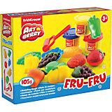 Набор для лепки: Пластилин на растительной основе Fru-Fru 3 цвета по 35г