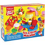 Набор для лепки: Пластилин на растительной основе Ice Cream Machine 8 цветов по 35г