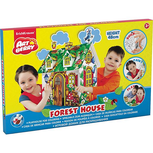 """Игровой домик для раскрашивания """"Лесной дом"""", Artberry"""