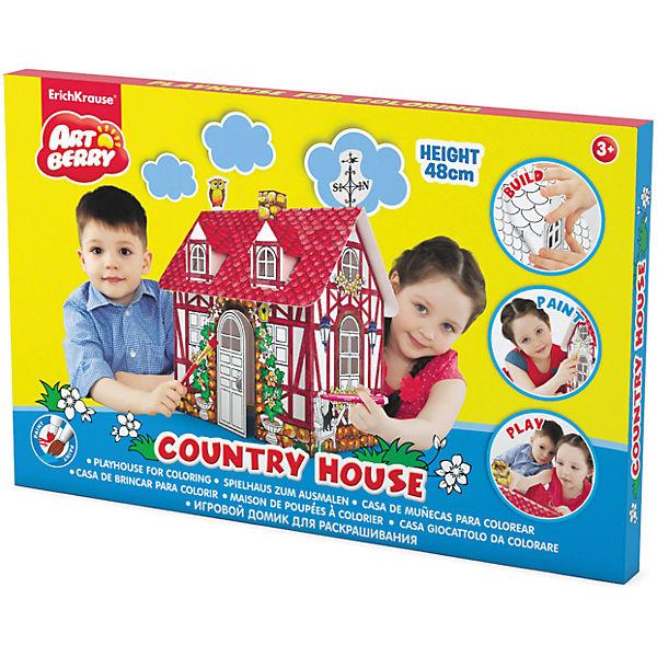 """Игровой домик для раскрашивания """"Загородный дом"""", Artberry"""
