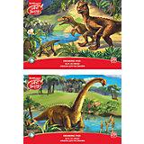 """Альбом для рисования А4 20л """"Эра динозавров"""", ArtBerry"""