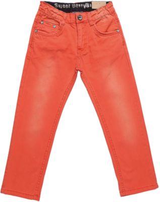 Джинсы для мальчика Sweet Berry - оранжевый