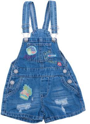 Комбинезон джинсовый для девочки Sweet Berry - голубой