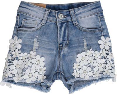 Шорты джинсовые для девочки Sweet Berry - голубой