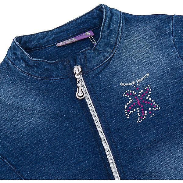Жакет джинсовый для девочки Sweet Berry