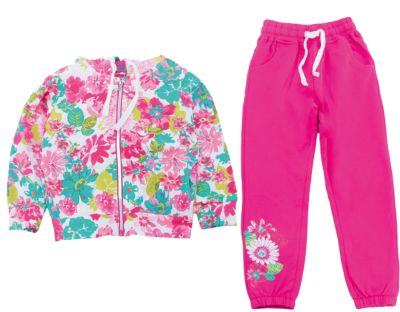 Спортивный костюм для девочки Sweet Berry - разноцветный