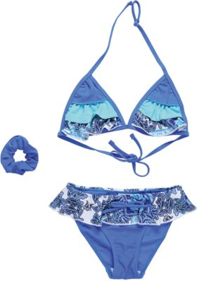 Купальник для девочки Luminoso - голубой