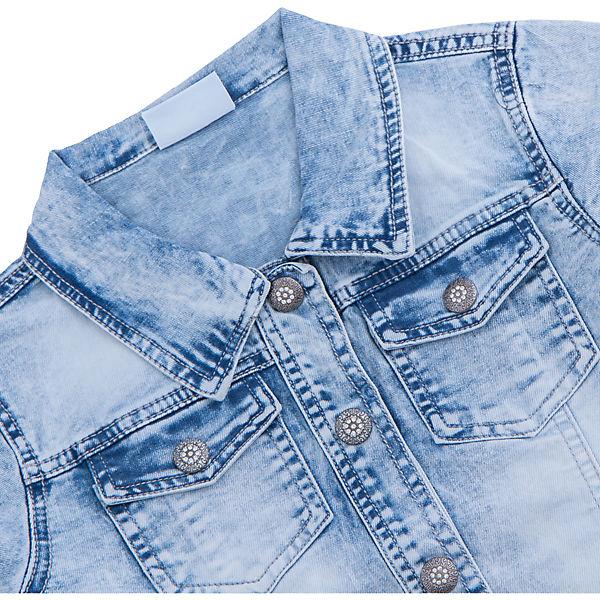 Куртка джинсовая для девочки Luminoso