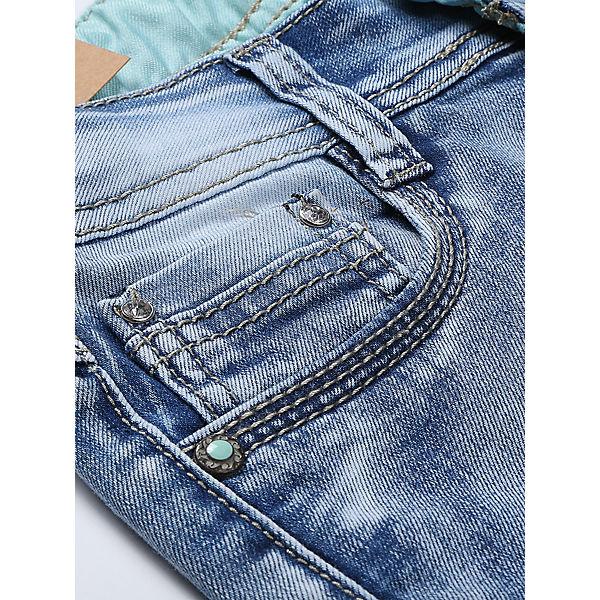 Бриджи джинсовые для девочки Luminoso