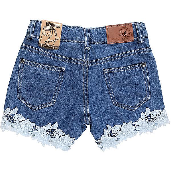 Шорты джинсовые для девочки Luminoso