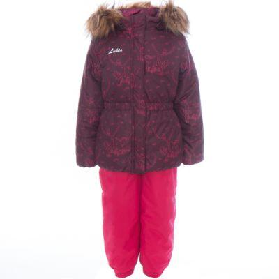 Комплект: куртка и полукомбинезон для девочки Luhta - красный