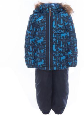 Комплект: куртка и полукомбинезон для мальчика Luhta - синий