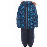 Комплект: куртка и полукомбинезон для мальчика Luhta