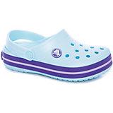 Сабо Crocband™ clog, голубой