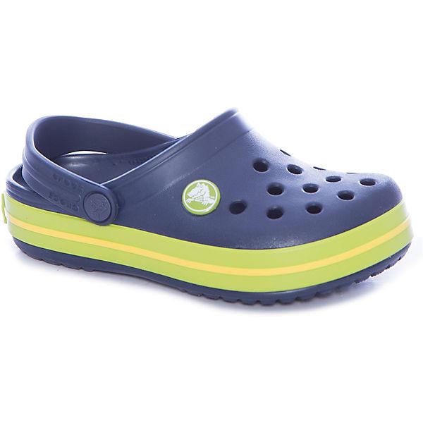 Сабо Crocband™ clog, синий, салатовый