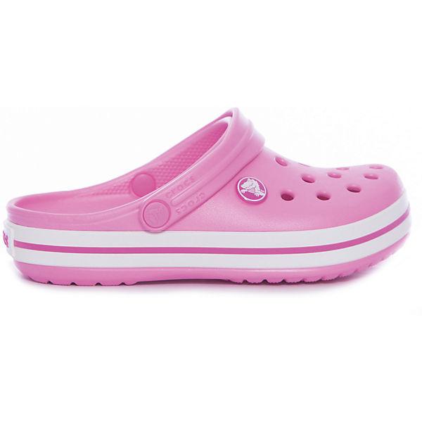 Сабо Crocband™ clog, розовый