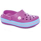 Сабо Crocband™ clog, фиолетовый