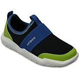 Кроссовки Kids' Swiftwater Easy-On Shoes, черный, зеленый