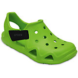Сандалии CROCS Kids' Swiftwater Wave, зеленый
