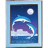 """Мозаичная картина """"Дельфины"""""""