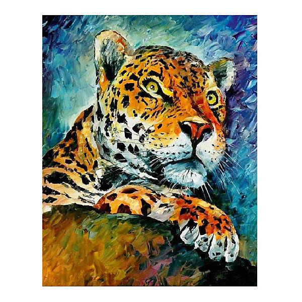 "Картина по номерам ""Афремов: Леопард"", 40*50 см"