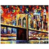 "Картина по номерам ""Афремов: Бруклинский мост"", 40*50 см"