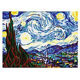 """Картина по номерам """"Ван Гог: Звездная ночь"""", 40*50 см"""