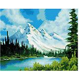 "Картина мозаикой ""Белизна гор"", 40*50 см"
