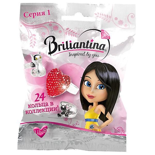 "Кольцо ""UNO"" , Briliantina"