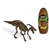 Яйцо динозавра - сборная модель Паразауролофа, Geoworld