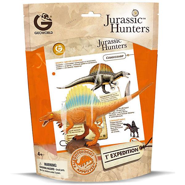 Динозавр Спинозавр, коллекция Jurassic Hunters, Geoworld