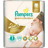 Подгузники Pampers Premium Care, 2-5 кг, 1 размер, 22 шт., Pampers