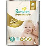 Подгузники Pampers Premium Care, 8-14 кг, 4 размер, 20 шт., Pampers