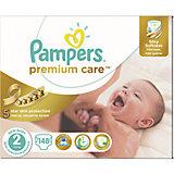 Подгузники Pampers Premium Care, 3-6 кг, 2 размер, 148 шт., Pampers