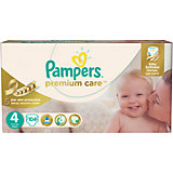 Подгузники Pampers Premium Care, 8-14 кг, 4 размер, 104 шт., Pampers