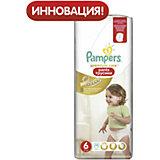 Подгузники-трусики Pampers Premium Care Pants, 16кг+, размер 6, 36 шт., Pampers