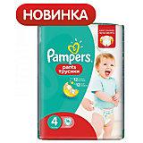 Подгузники-трусики Pampers Pants, 9-14кг, размер 4, 16 шт., Pampers