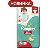 Трусики Pampers Pants, 16кг+, размер 6, 44 шт., Pampers
