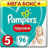 Трусики Pampers Pants, 12-18кг, размер 5, 96 шт., Pampers