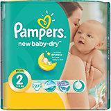 Подгузники Pampers New Baby-Dry, 3-6 кг, 2 размер, 27 шт., Pampers
