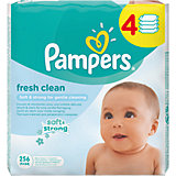 Салфетки детские влажные Pampers  Baby Fresh Clean,  256 шт., Pampers