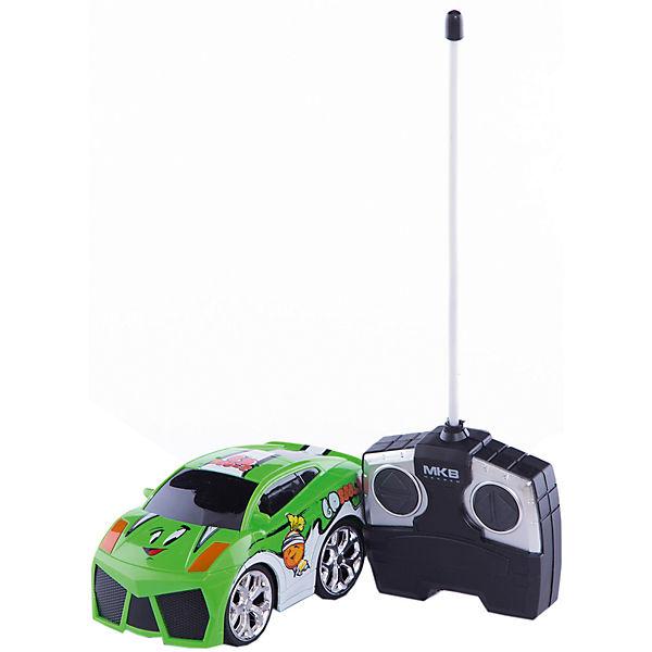 Машинка на радиоуправлении Mini, бело-зеленая, Blue Sea