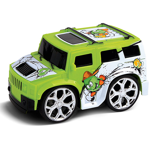 Машинка на радиоуправлении Mini, зеленая, Blue Sea