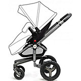 Коляска 2 в 1 Silver Cross SURF, Carrycot/Chassis Silver