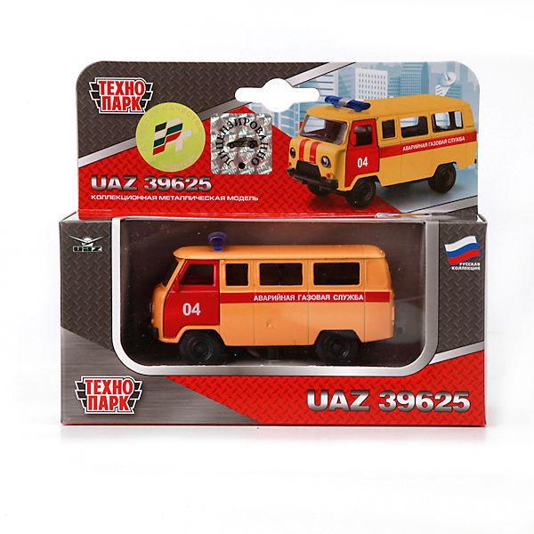 Машина УАЗ 39625, ТЕХНОПАРК