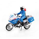 Мотоцикл , с фигуркой, свет+звук, ТЕХНОПАРК
